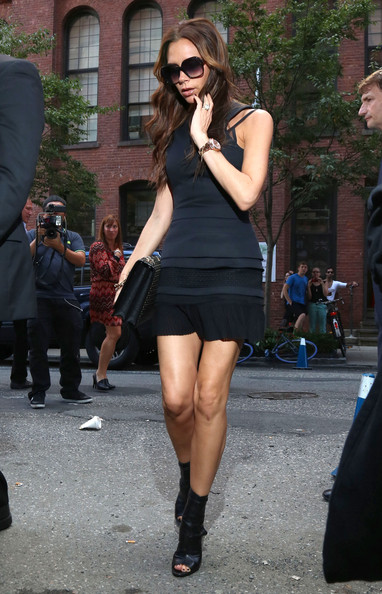 More Pics of Victoria Beckham Little Black Dress (1 of 11) - Victoria Beckham Lookbook - StyleBistro