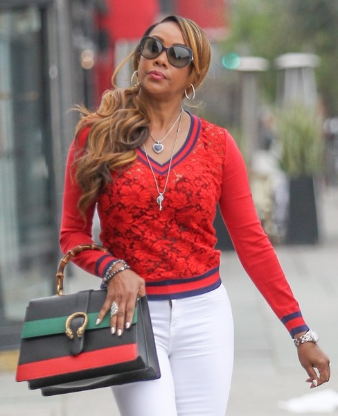 Vivica A. Fox Butterfly Sunglasses []