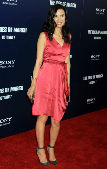 Wendi Deng Murdoch Wrap Dress