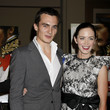 Emily Blunt and Rupert Friend