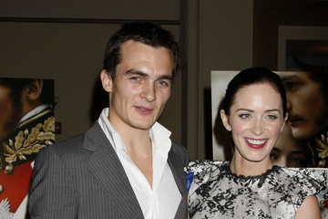 "Emily Blunt Rupert Friend ""The Young Victoria"" Los Angeles Screening - Arrivals"
