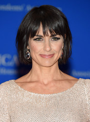 Constance Zimmer opted for a casual bob when she attended the White House Correspondents' Association Dinner.