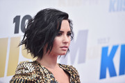 Demi Lovato worked a messy bob during KIIS FM's Wango Tango 2016.