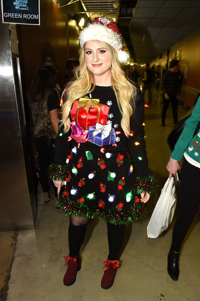 the best celebrity ugly christmas sweater moments - The Best Ugly Christmas Sweaters