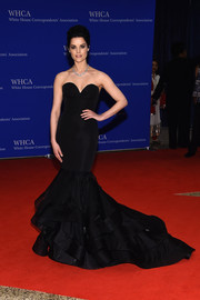 Jaimie Alexander was a sight to behold in this ultra-glam Christian Siriano mermaid gown at the White House Correspondents' Association Dinner.