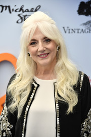 Cynthia Germanotta looked gorgeous wearing her platinum-blonde tresses in a retro half-up style at the Empathy Rocks fundraiser.