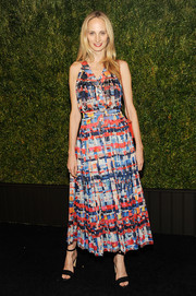 Lauren Santo Domingo donned a colorful abstract-print dress by Chanel for the label's Tribeca Film Festival Artists Dinner.