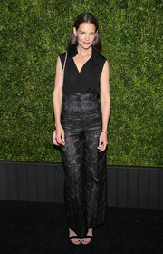 Katie Holmes pulled off the high-waisted look so effortlessly with these Chanel brocade pants during the label's Tribeca Film Festival Artists Dinner.