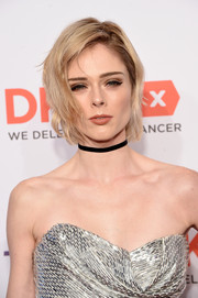 Coco Rocha sported a slightly messy, side-parted style at the DKMS Big Love Gala.