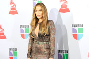 Singer Jennifer Lopez arrives at the 11th annual Latin GRAMMY Awards at the Mandalay Bay Resort & Casino on November 11, 2010 in Las Vegas, Nevada.