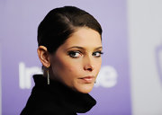 Ashley Greene showed off dangling earrings at the Golden Globes after party.