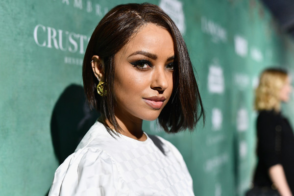 Kat Graham opted for a classic bob when she attended the Women in Film pre-Oscar party.