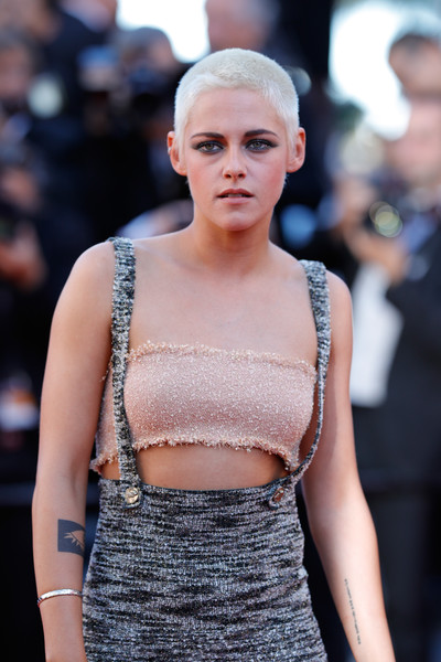Kristen Stewart went for minimal styling with a silver bangle at the Cannes Film Festival screening of '120 Beats Per Minute.'