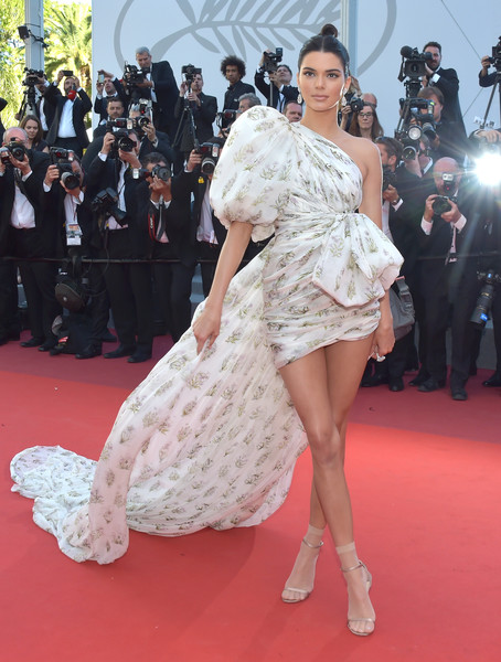 Kendall Jenner in Giambattista Valli at the Cannes Film Festival
