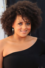 Marsha Ambrosius kept it natural with this short curly 'do at the BMI Urban Awards.