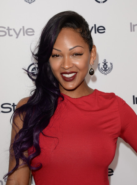 More Pics of Meagan Good One Shoulder Dress (2 of 3) - Meagan Good Lookbook - StyleBistro