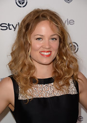 Erika let her curls run free at the InStyle Summer Soiree.