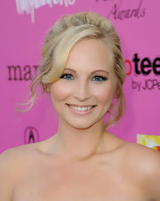 Nude lipstick gave Candice Accola a subtle beauty look during the Young Hollywood Awards.