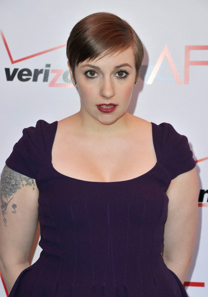 More Pics of Lena Dunham Cocktail Dress (5 of 9) - Lena Dunham Lookbook - StyleBistro