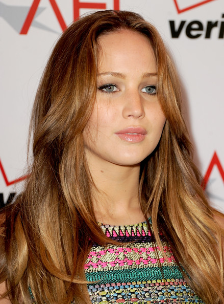 More Pics of Jennifer Lawrence Long Wavy Cut (5 of 8) - Long Wavy Cut Lookbook - StyleBistro