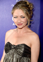 Rebecca Gayheart was sexily coiffed with this messy updo at the Chrysalis Butterfly Ball.
