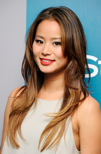 More Pics of Jamie Chung Ombre Hair (4 of 7) , Ombre Hair