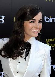 Camilla Belle looked lovely at the Young Hollywood Awards. She swept her bangs to one side and pinned them for a sleek and polished finish.