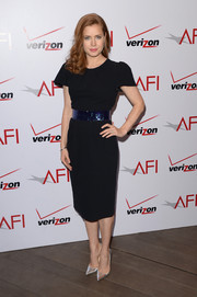 Amy Adams was all about simplicity in this Roksanda Ilincic LBD at the AFI Awards.