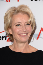 Emma Thompson wore her hair short with delicate waves when she attended the AFI Awards.
