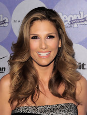 Daisy Fuentes paired her shoulder length curls while at the 50 Most Beautiful party.