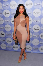 Julissa Bermudez showed off her svelte figure while hitting the 50 Most Beautiful celebration.