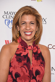 Hoda Kotb attended the Woman's Day Red Dress Awards wearing her hair in a mid-length bob.