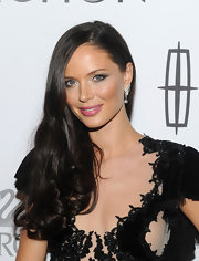 Raven-haired Georgina Chapman wore her shiny locks in a lovely, side-swept 'do at the 15th Annual Ace Awards.