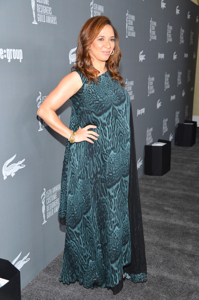 More Pics of Maya Rudolph Print Dress (1 of 5) - Maya Rudolph Lookbook - StyleBistro