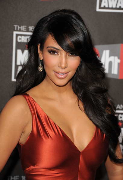 Kim+Kardashian in 16th Annual Critics' Choice Movie Awards - Arrivals