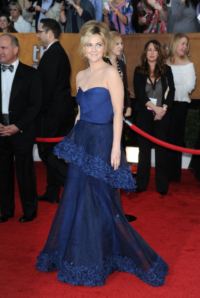 Drew Barrymore at the 2010 SAG Awards