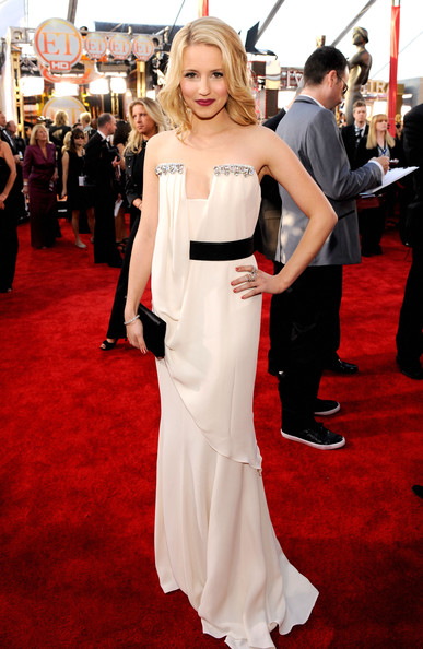 Dianna Agron at the 2010 SAG Awards