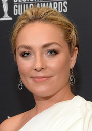 Elisabeth Rohm wore a simple yet lovely braided chignon at the Costume Designers Guild Awards.