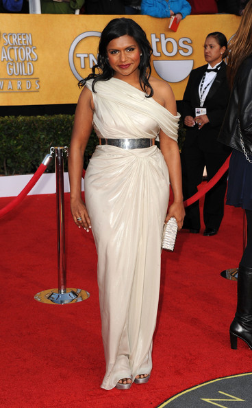 Mindy Kaling at the 2011 SAG Awards