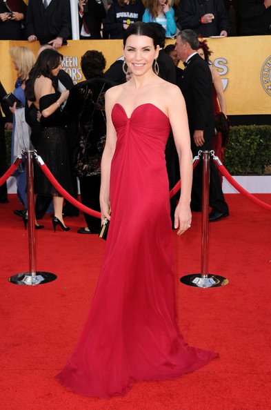Julianna Margulies at the 2011 SAG Awards