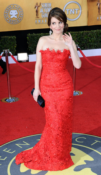 Tina Fey at the 2011 SAG Awards