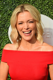 Megyn Kelly was beach-chic with her blonde waves at the USTA Foundation opening night gala.