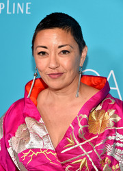 Ane Crabtree attended the Costume Designers Guild Awards looking cool with this close-cropped hairstyle.