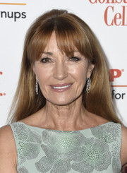 Jane Seymour sported a straight hairstyle with parted bangs at the 2019 Movies for Grownups Awards.