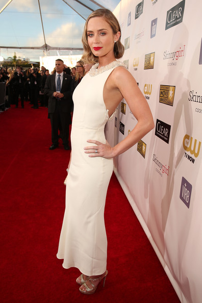 Emily Blunt at the 2013 Critics' Choice Awards