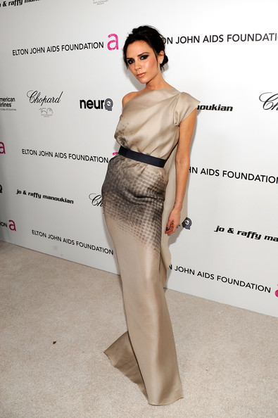 Victoria+Beckham in 18th Annual Elton John AIDS Foundation Academy Award Party - Red Carpet