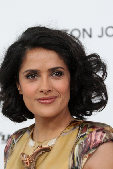 More Pics of Salma Hayek Short Curls (10 of 17) - Short Hairstyles ...