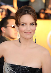 Tina Fey wore her hair in a sleek updo at the 18th Annual SAG Awards.