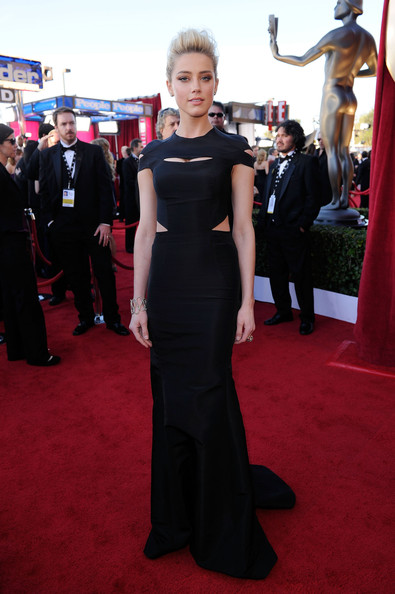 Amber Heard at the 2012 SAG Awards