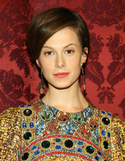 Elettra Wiedemann kept it simple with this short hairstyle at the 19th Annual Artwalk NY.